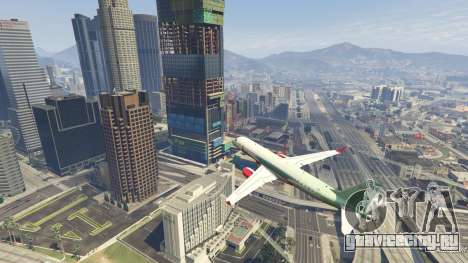 Embraer 195 Wind для GTA 5 пятый скриншот
