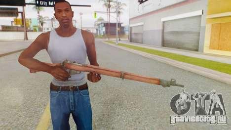 Arma OA Lee Enfield для GTA San Andreas третий скриншот