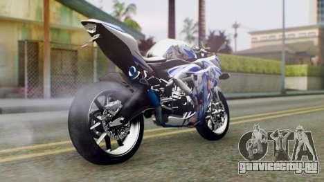 Yamaha YZF R-25 Kos-Mos Xenosaga Itasha 2014 для GTA San Andreas вид слева
