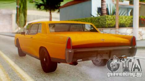 GTA 5 Vapid Chino Tunable для GTA San Andreas вид слева