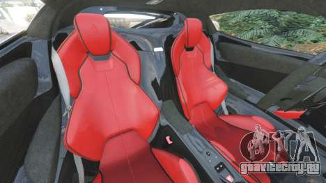 Ferrari LaFerrari 2015 v1.2 для GTA 5 вид справа