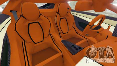 Jaguar C-X75 для GTA 5 вид справа