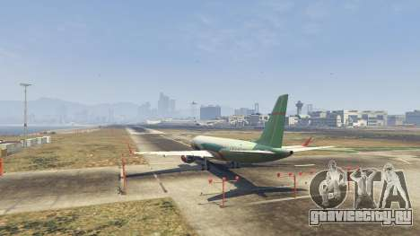 Embraer 195 Wind для GTA 5 третий скриншот