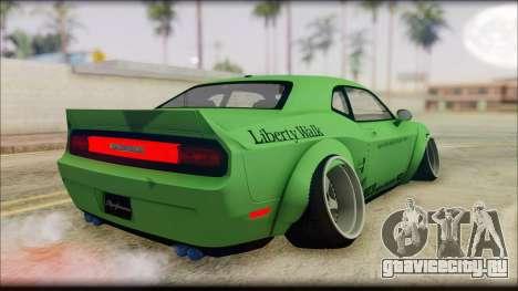 Dodge Challenger LB Perfomance для GTA San Andreas вид слева