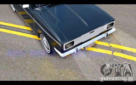 Peykan 1347 Classic для GTA San Andreas вид сбоку