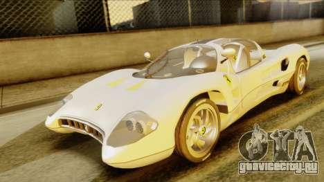 Ferrari P7 Spyder для GTA San Andreas