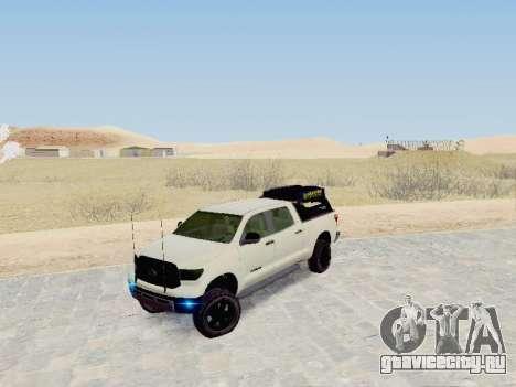 Toyota Tundra 2012 Semi-Off-road для GTA San Andreas