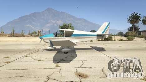 Robin DR-400 для GTA 5 второй скриншот