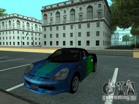 Toyota MR-S Tunable для GTA San Andreas вид сбоку