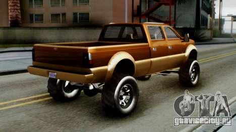 GTA 5 Vapid Sandking XL для GTA San Andreas вид слева
