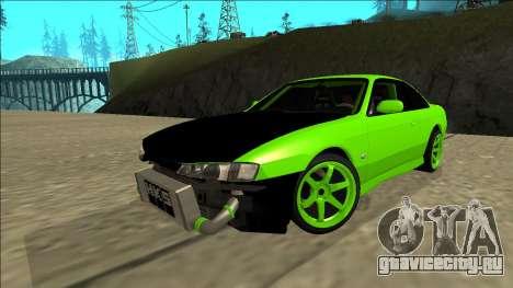 Nissan Silvia S14 Drift для GTA San Andreas салон