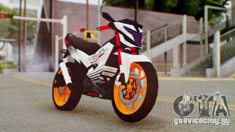 Honda Sonic 150R KingLivery для GTA San Andreas