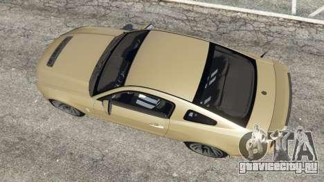 Ford Mustang Shelby GT500 2013 v2.0 для GTA 5