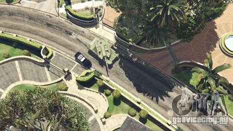 K2 Black Panther для GTA 5 вид справа