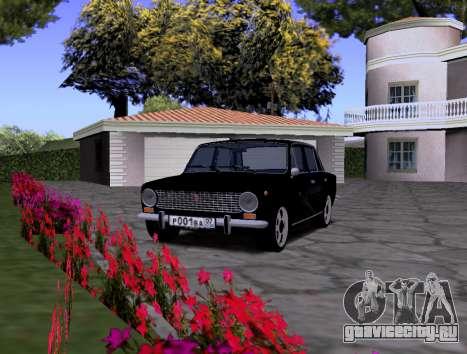 ВАЗ 2101 KBR для GTA San Andreas вид справа