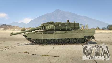 K2 Black Panther для GTA 5 вид слева