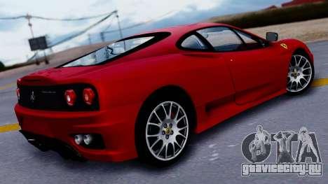Ferrari 360 Challenge Stradale для GTA San Andreas вид слева