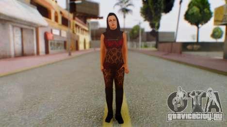 WWE Aksana для GTA San Andreas второй скриншот