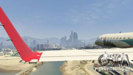 Embraer 195 Wind для GTA 5 восьмой скриншот