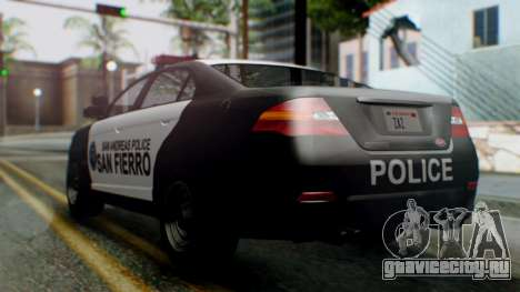 GTA 5 Police SF для GTA San Andreas вид слева
