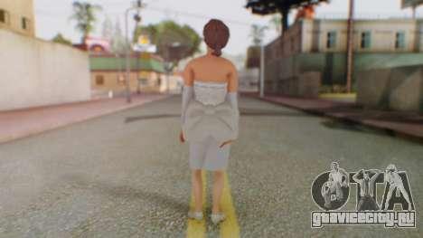 Miss Elizabeth для GTA San Andreas третий скриншот