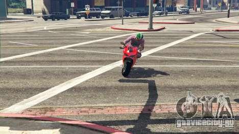 Ducati 1299 Panigale S v1.1 для GTA 5 вид сзади
