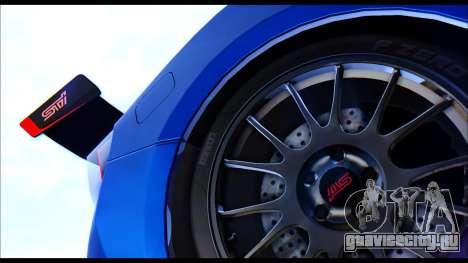 Subaru BRZ STi Concept 2016 для GTA San Andreas вид справа