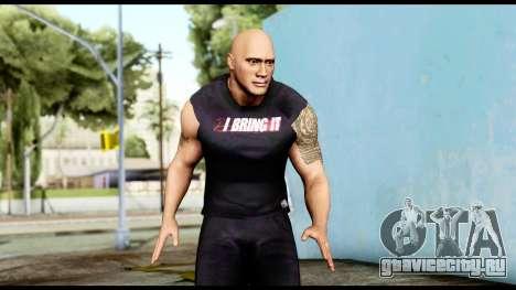 WWE The Rock 2 для GTA San Andreas