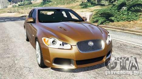Jaguar XFR 2010 для GTA 5