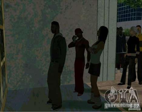 Очередь около кинотеатра для GTA San Andreas четвёртый скриншот