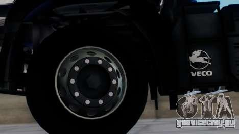 Iveco EuroTech v2.0 для GTA San Andreas вид сзади слева