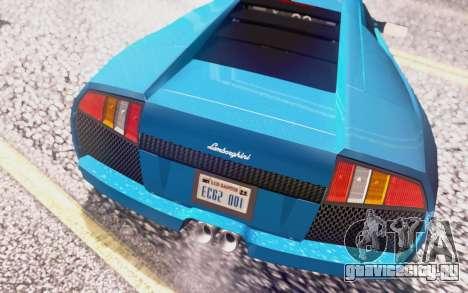 Lamborghini Murcielago 2005 для GTA San Andreas двигатель