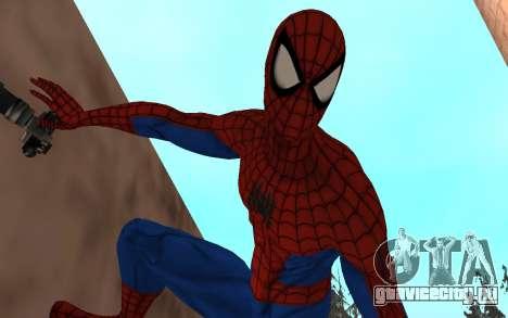 Удивительный человек-паук комикс-версия для GTA San Andreas