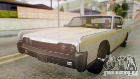GTA 5 Vapid Chino Tunable для GTA San Andreas вид сбоку