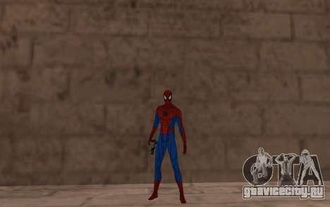 Удивительный человек-паук комикс-версия для GTA San Andreas третий скриншот