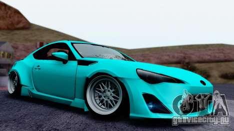 Toyota GT86 Rocket Bunny для GTA San Andreas