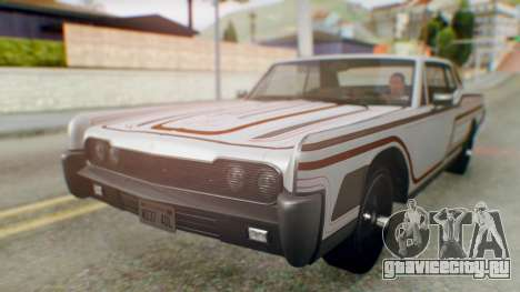 GTA 5 Vapid Chino Tunable для GTA San Andreas двигатель