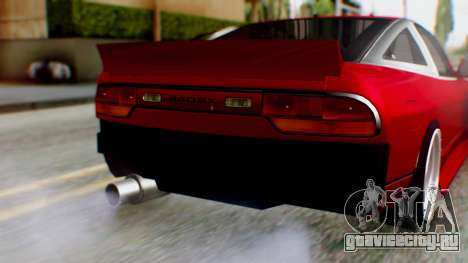 Nissan 240SX Drift v2 для GTA San Andreas вид сзади