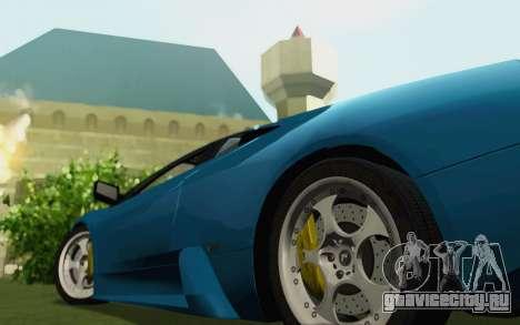 Lamborghini Murcielago 2005 для GTA San Andreas вид сзади слева