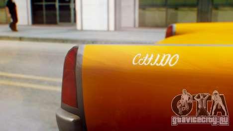 GTA 5 Vapid Chino Tunable для GTA San Andreas вид сзади