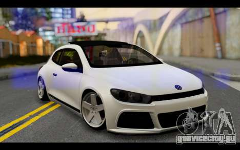 Volkswagen Scirocco для GTA San Andreas