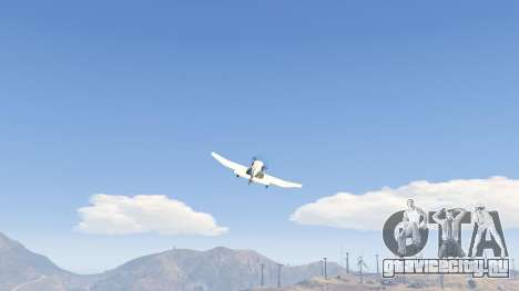 Robin DR-400 для GTA 5 восьмой скриншот