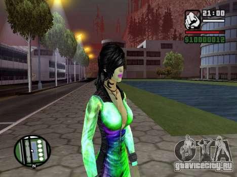 Christie Doa Changed v1.0 для GTA San Andreas