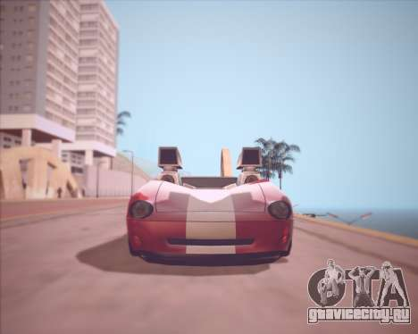 Banshee Twin Mill III Hot Wheels v1.0 для GTA San Andreas вид слева