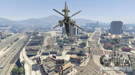 Ка-52 Аллигатор для GTA 5 шестой скриншот