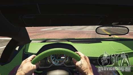 Lamborghini Aventador LP700-4 v.2.2 для GTA 5 вид сзади