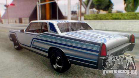 GTA 5 Vapid Chino Tunable для GTA San Andreas салон