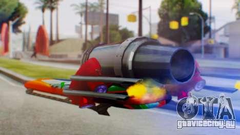 Flying Hovercraft New Skin для GTA San Andreas вид слева