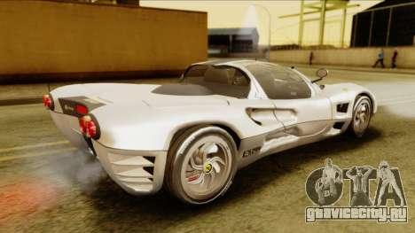 Ferrari P7 Spyder для GTA San Andreas вид сзади слева
