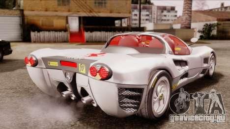 Ferrari P7 Horse для GTA San Andreas вид слева